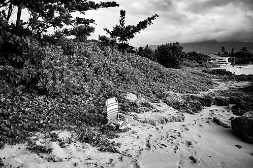 """Turtle Beach, Hawaii2018"" Framed Print"