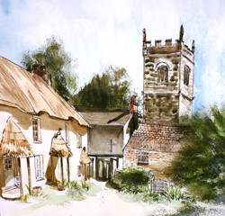 St Clement Village 30 x 42 cm.JPG