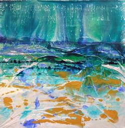 Karen Smith Light through the trees 50 x