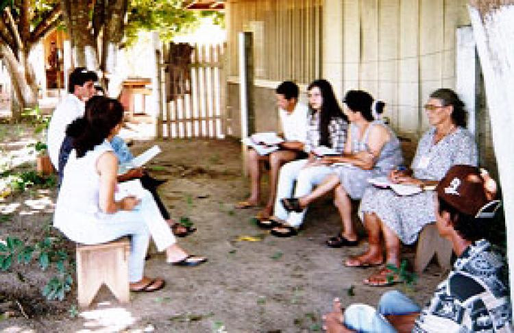 A community that reads the bible from their reality, part of CEBI - Center for Biblical Studies, founded by Jether e Lucilia Ramalho, Agostinha Vieira de Mello and Carlos Mesters in 1979.