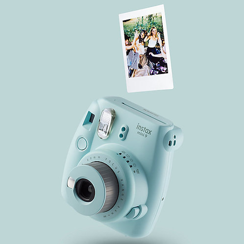 Instant print camera (hire) with prints & creative scrapbook