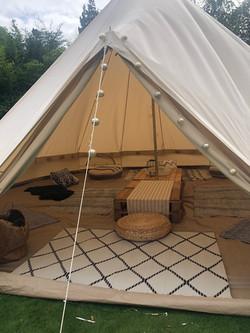 Scandi chill tent