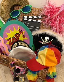 Fancy dress and prop box (hire only)
