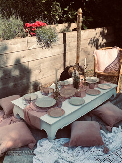Luxe Picnic - dreamy pinks