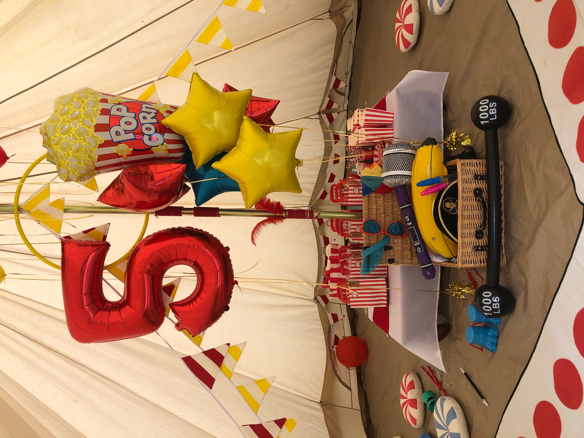 Daytime party - circus theme