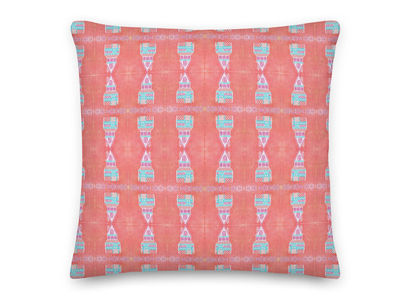 Dollhouse Print Pillow