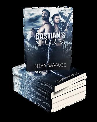 Bastian's Storm Autographed Paperback