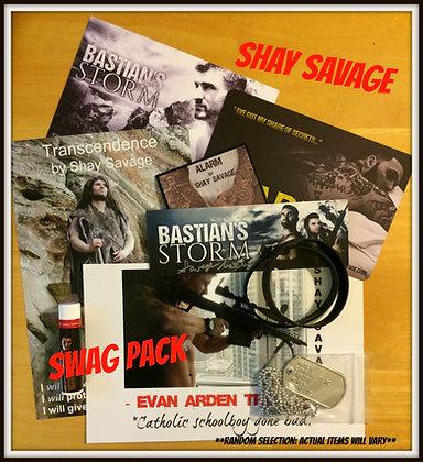 Random Shay Savage Swag Pack