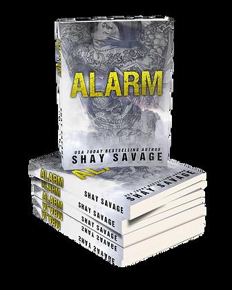 Alarm Autographed Paperback