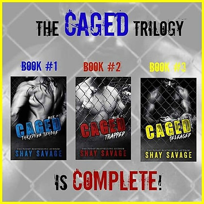 Caged Trilogy Signed Paperbacks