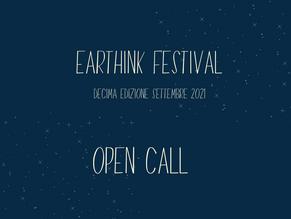 OPEN CALL EARTHINK FESTIVAL 2021