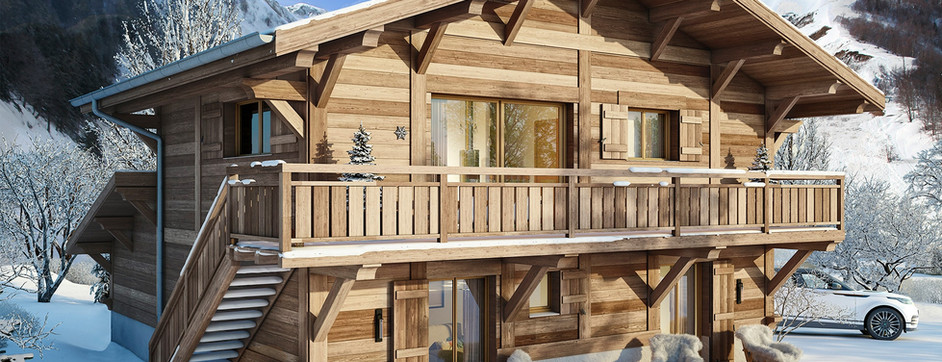 Contemporary chalet