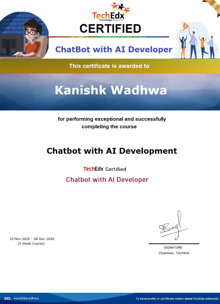 Chatbot with AI - Kanishk Wadhwa.png