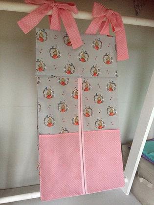 Pink Peter Rabbit Nappy Stacker