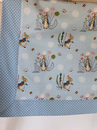 Peter Rabbit Design Baby/Receiving Blanket.
