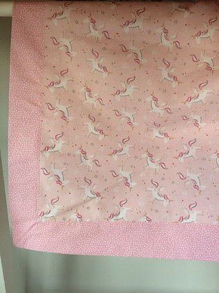 Unicorn Design Baby/Receiving Blanket.