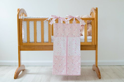 pink unicorn design nappy stacker