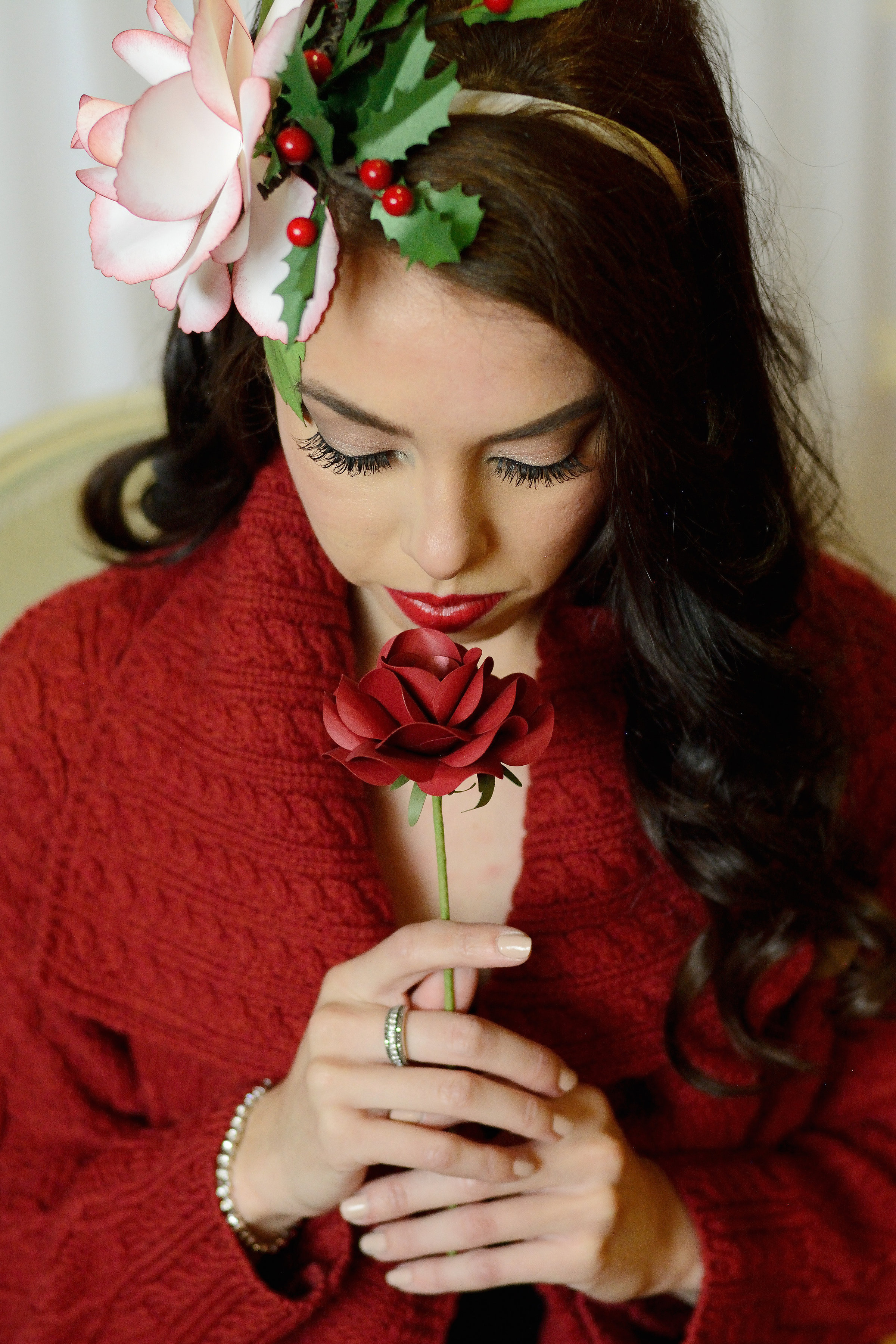 red paper rose 2clvr designs