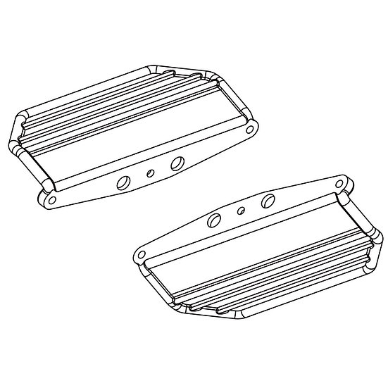 Skid Plates (left & right)