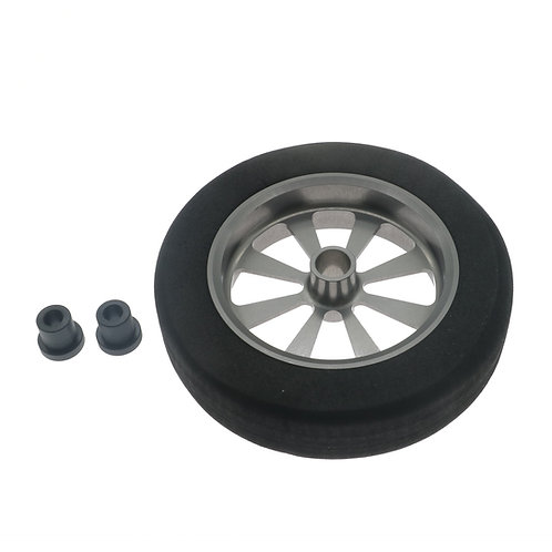 "FlyWheelz™Alu Hub Light Foam Wheel 2.25""/5.71cm"