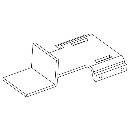 Battery/RX Mounting Tray