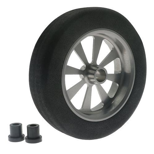 """FlyWheelz™Alu Hub Light Foam Wheel 2.75""""/7cm"""