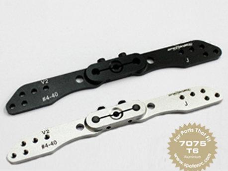 """Full Arm offset 23T JR 4.5"""" 114mm #4-40"""