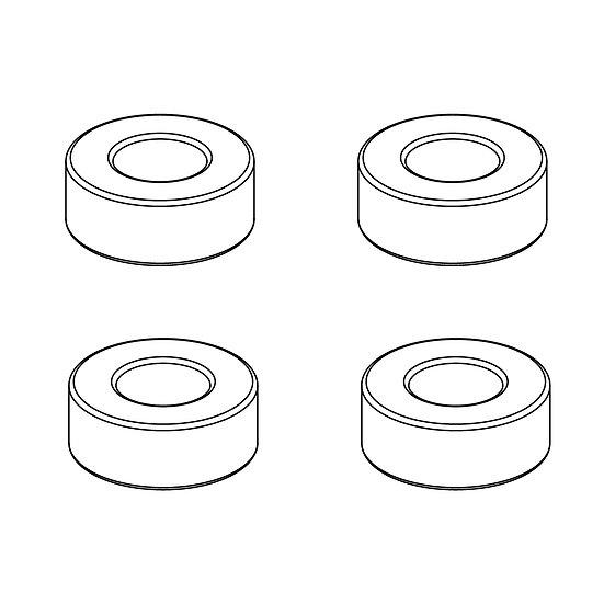 Ball Bearings 4x8x3mm (4)