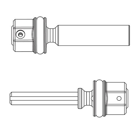 Front/Rear Center Drive Shaft Set