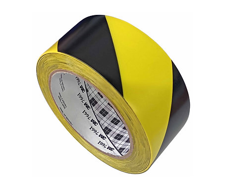 Nastro adesivo segnalatore (Giallo/Nero)