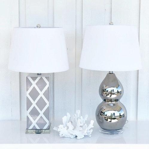 Lampe Mykonos grey