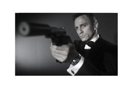 Glass Bilde Daniel Craig