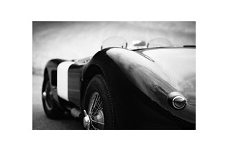 Glass bilde VINTAGE CAR 90x150