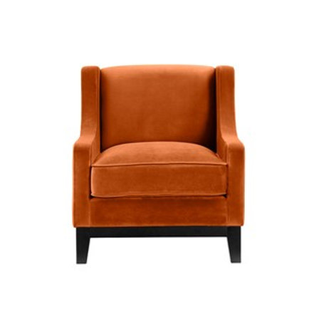 Stol Houston Velour Orange