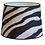 Thumbnail: Lampe skjerm Zebra Black 30cm