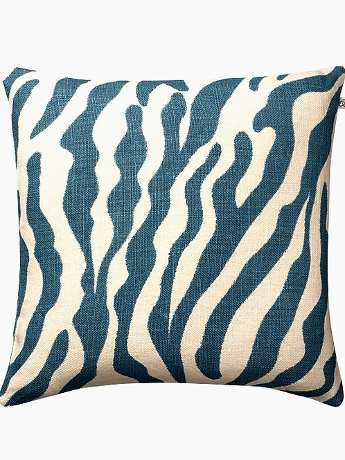 Pute Zebra blue
