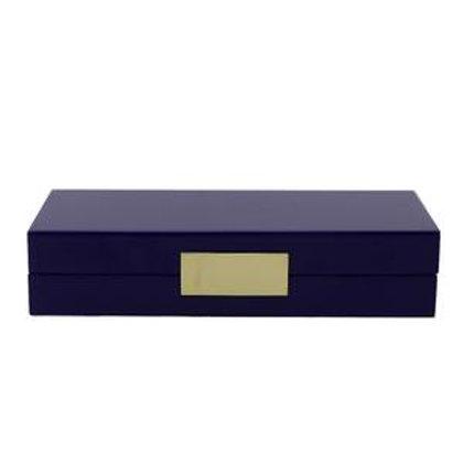 Lakk boks - Jewelry - Navy