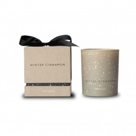 Candle Winter Cinnamon Beige