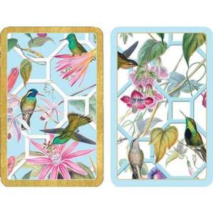 Playing Cards - Hummingbird