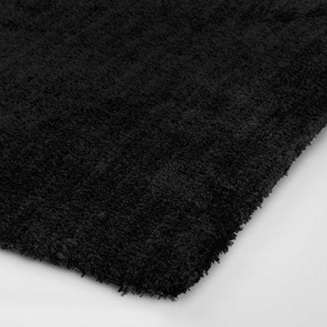 Tuftet teppe Ø250 Black
