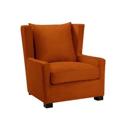 Kingston stol velour Orange