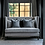 Thumbnail: Dining Sofa DENVER  Velour black 230