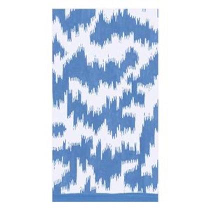 Servietter Modern Moire blue - Guest