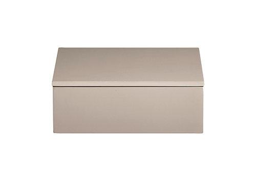 Lakk Box 19 x 19 x 7cm beige