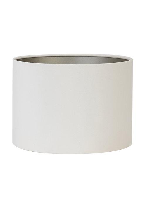 Lampeskjerm VELOURS offwhite 25cm