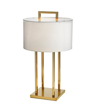 Lampe Aruba dobbel Gold