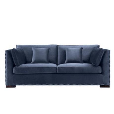 Sofa Manhattan Petroleums blå
