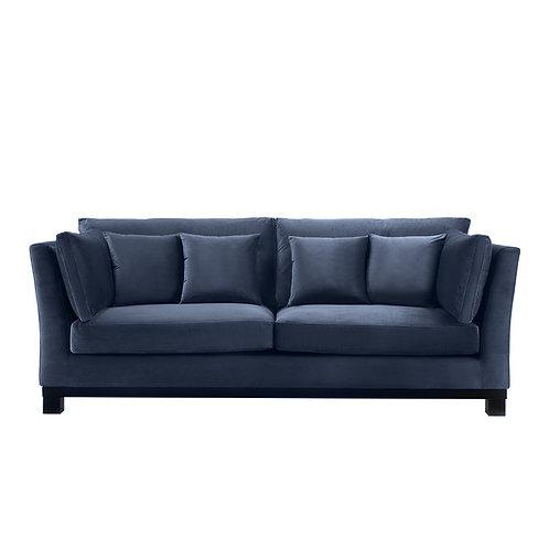 Sofa York Petroleums blå