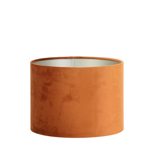 Lampeskjerm VELOURS terracotta 25cm