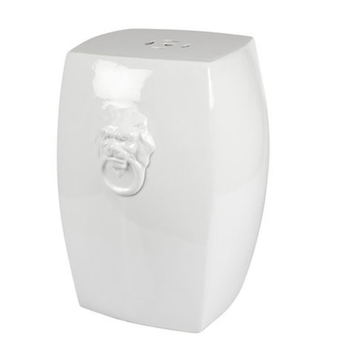 Ceramic stool Lion